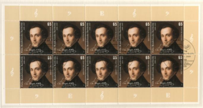 Geburtstag von Felix Mendelssohn Bartholdy