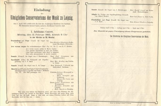Jubiläumskonzertreihe zum 40jährigen Bestehen des Konservatoriums Konzert I