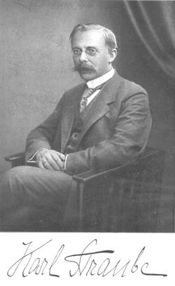 Geburtstag von Karl Straube