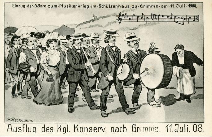 Sommerausflüge 11. Juli 1908, Grimma