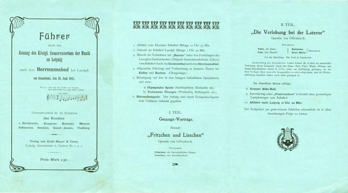 Sommerausflüge 29. Juli 1901, Hermannsbad