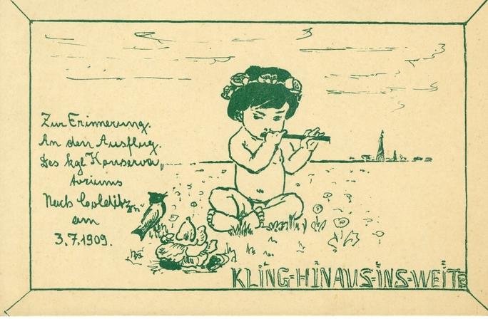 Sommerausflüge 3. Juli 1909, Colditz