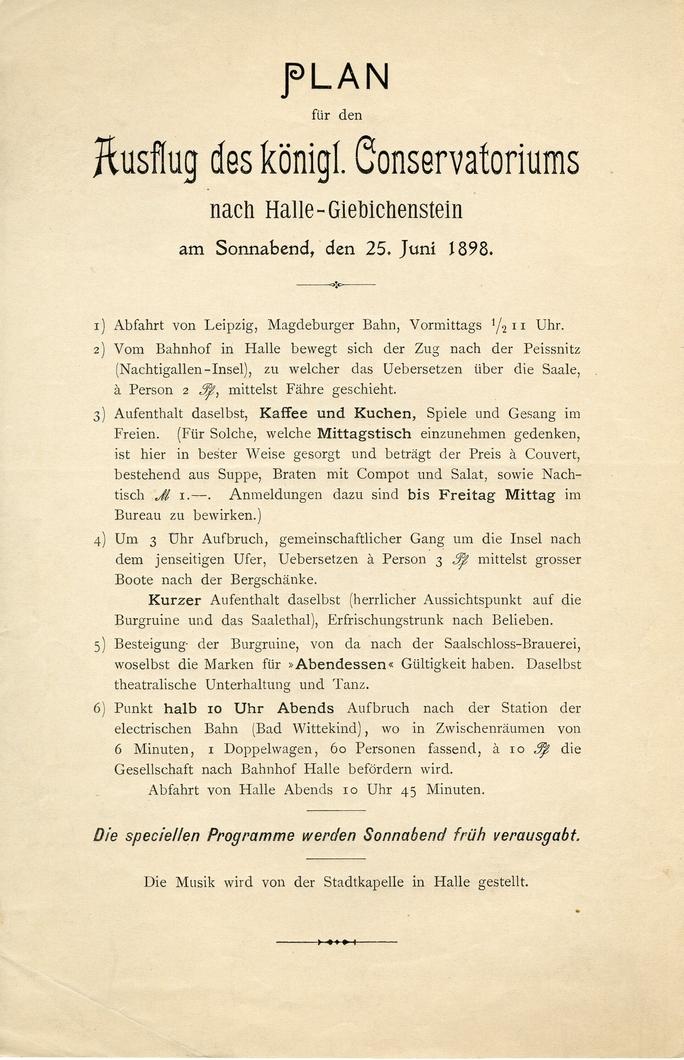 Sommerausflüge 25. Juni 1898, Halle-Giebichenstein