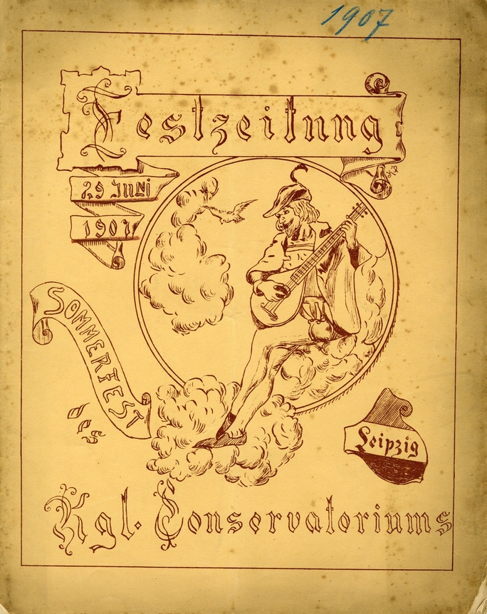 Sommerausflüge 29. Juni 1907, Colditz