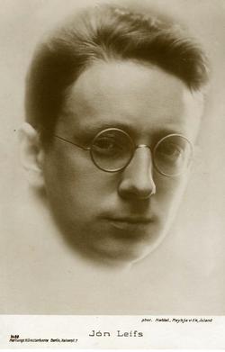 Geburtstag von Jón Leifs Isländischer Komponist, Dirigent und Alumnus des Leipziger Konservatoriums