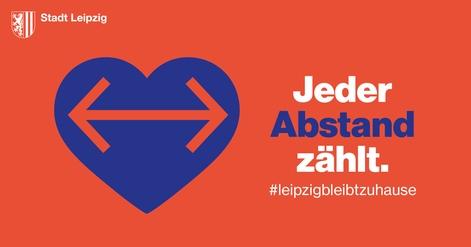 Bleibt zu Hause! Aufruf der Leipziger Stadtverwaltung vom 27. März 2020
