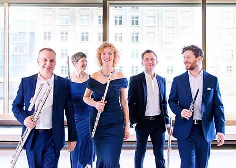 Konzert zum 25-jährigen Jubiläum des Querflötenensembles Quintessenz