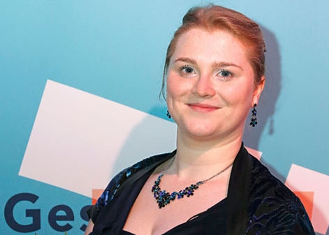 HMT-StudentinnenElsa Dreisig & Menna Davies Preisträgerinnen bei GesangswettbewerbTon und Erklärung 2014