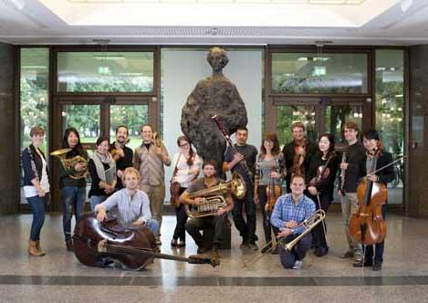 KammerkonzertMendelssohn-Orchesterakademie Sonntag, 12.01.2014, 11 Uhr, HMT, Grassistraße 8, Großer Saal