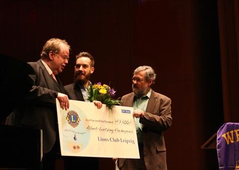 Sieger des 14.Lortzing-Wettbewerbs Felix-Tillmann Groth