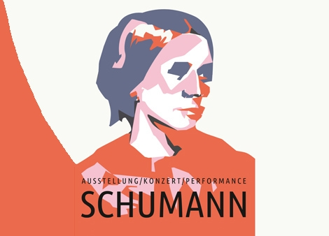 SCHUMANN – Ausstellung / Konzertperformance Eröffnung des Clara-Schumann-Jahres 2019Samstag, 26.1.2019, 19.30 Uhr, im ganzen Gebäude Grassistraße 8