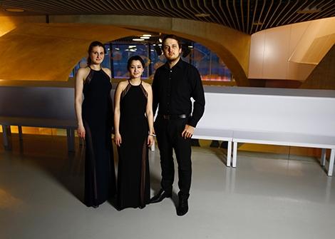 Zwei 1. Preise für Trio Marvin in Australien