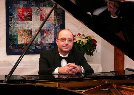 KlavierabendProf. Gerald Fauth (HMT) Samstag, 31.05.2014, 19.30 Uhr,HMT, Grassistraße 8, Großer Saal