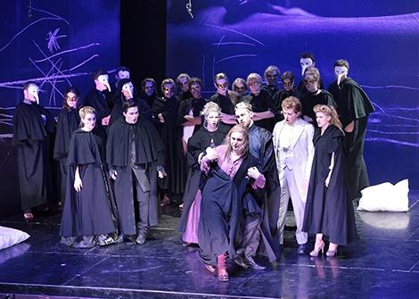 Opernproduktion Don Giovanni vonWolfgang Amadeus Mozart
