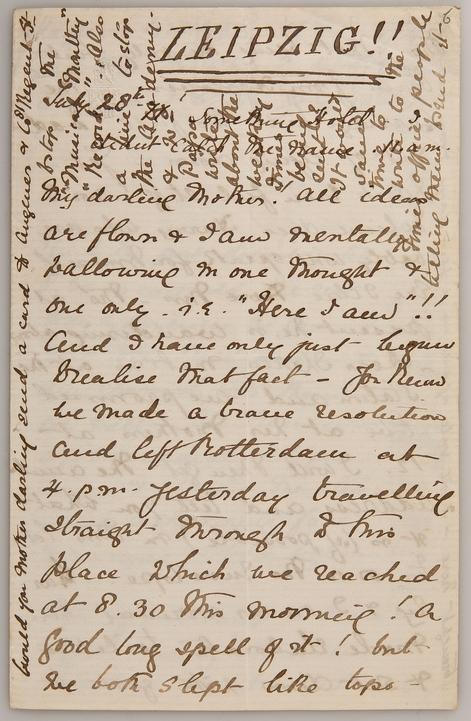 57 Briefe von Ethel Smyth digital veröffentlicht