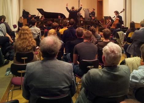 Musik und Gegenwart Freitag, 28.11.2014, 19:30 Uhr, Grassistraße 8, Großer Saal