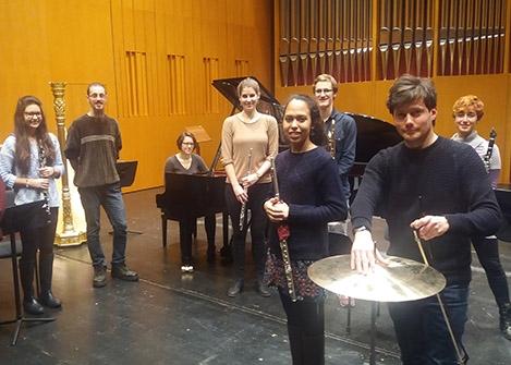 Musik & Gegenwart Fr, 22.11.2019, 19.30 Uhr,Grassistr. 8, Großer Saal