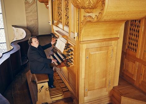 OrgelkonzertmitProf. Martin Schmeding Sonntag, 11.10.2015, 17:00 Uhr, Grassistraße 8, Großer Saal