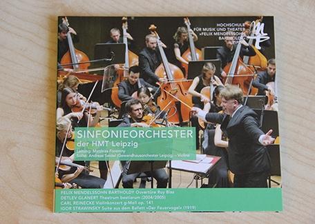 Fünfte CD des Hochschul-sinfonieorchesters