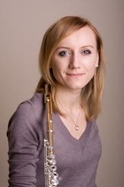 Ivanna Ternay Flötistin im Orchester des Bayrischen Rundfunks, München