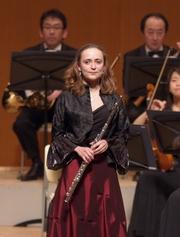 Mariya Semotyuk Flötistin im Concertgebouw-Orchester, Amsterdam