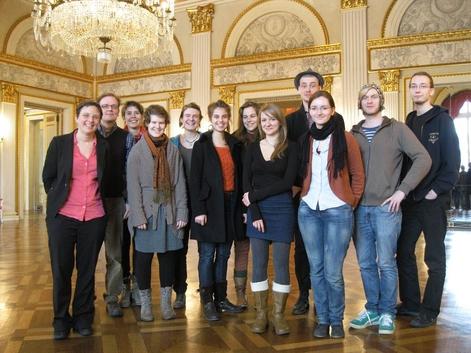 Januar 2012München Exkursion des 2. Semesters