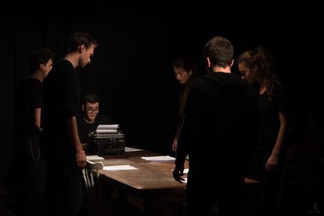 WINTERSEMESTER 2017/18 LESARTEN Neue Theatertexte in szenischen Lesungen