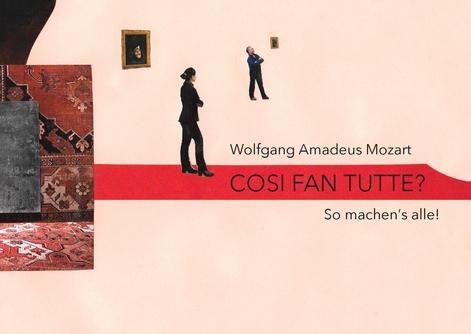 Così fan tutte? Ein musiktheaterpädagogisches Projekt 5./6./7.2.18 jeweils 19:30 Uhr, HMT Grassistr. 8, Grosser Saal