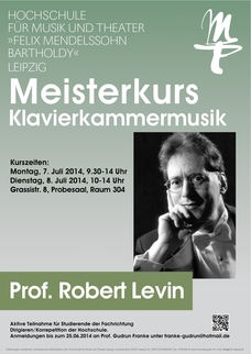 MeisterkursProf. Robert Levin