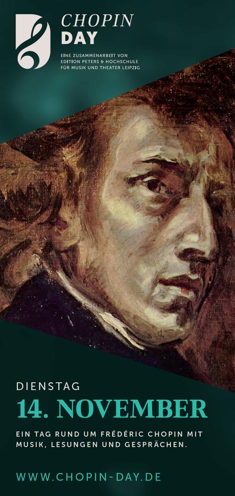 Chopin Day 14. November 2017 Ein Projekt der HMT in Kooperation mit dem C. F. Peters Musikverlag