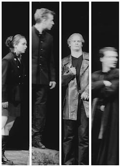Solopreis fürRoman Weltzien Studio Weimar, Theatertreffen deutschsprachiger Schauspielstudierender Potsdam 2000