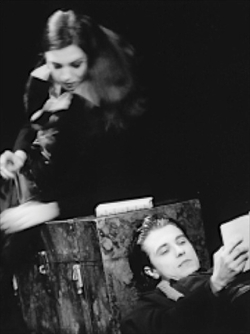 Solopreis fürMichael Pyter Studio Weimar, Theatertreffen deutschsprachiger Schauspielstudierender Potsdam 2000