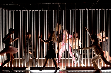 Ensemblepreis fürDer große Marsch Studio Leipzig, Theatertreffen deutschsprachiger Schauspielstudierender Berlin 2013