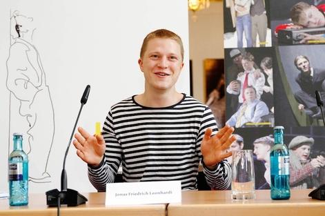 Erich-Ponto-Preis 2015 Jonas Friedrich Leonhardi