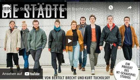 Küwoprogramm StudioHalle Gedichte von Bertolt Brecht und Kurt Tucholsky