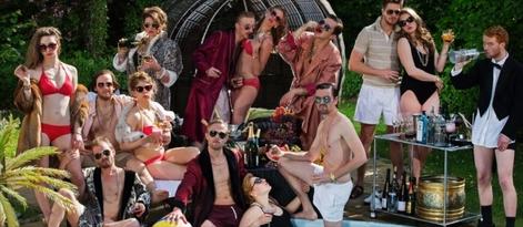 Sommertheater 2014 Der Meisterdieb - von Gaunern und Gangsternvon Dieter Gring, bearbeitet von Hendrik Duryn