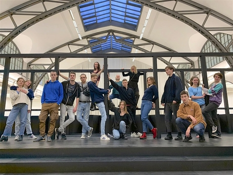 Hamburger Bahnhof -1. Studienjahr