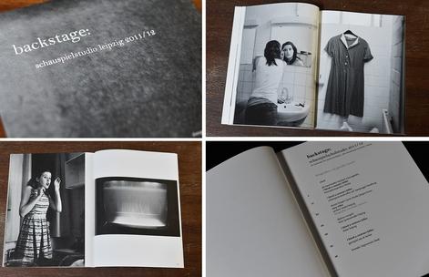 Fotobuch von Jennifer Ressel Dokumentation3. StudienjahrCentraltheater Leipzig