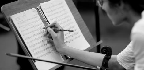 Ausbildung im Fach Violine