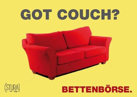Bettenbörse Deine Couch für zukünftige Kommilitonen